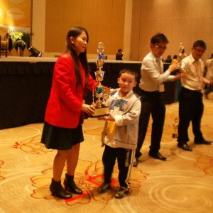 Age 8, 1st Runner Up (2nd prize) in Genting National Competition 2012