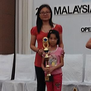 Age 9, Top 10 winners (3rd prize) in AMA National Competition 2015